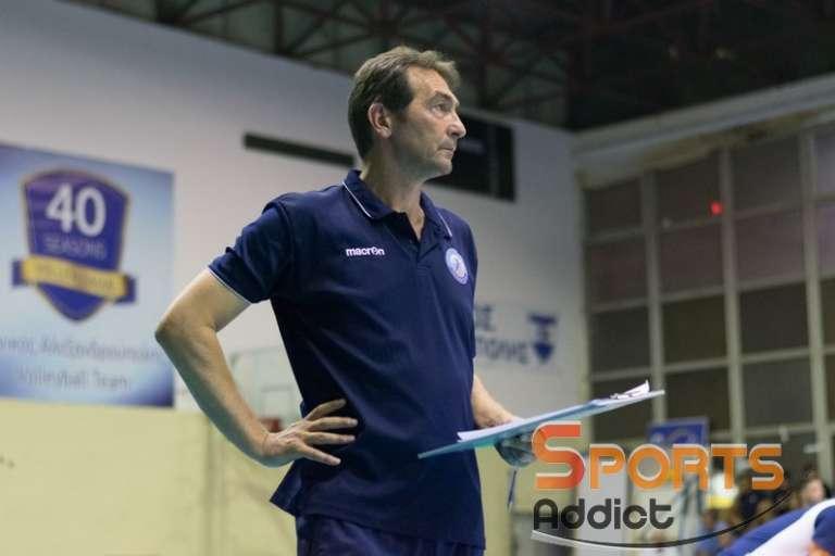 Ανδρεόπουλος στο SA: «Ζητήσαμε να παίξουμε και με Σουηδία στην Αλεξ/πολη»