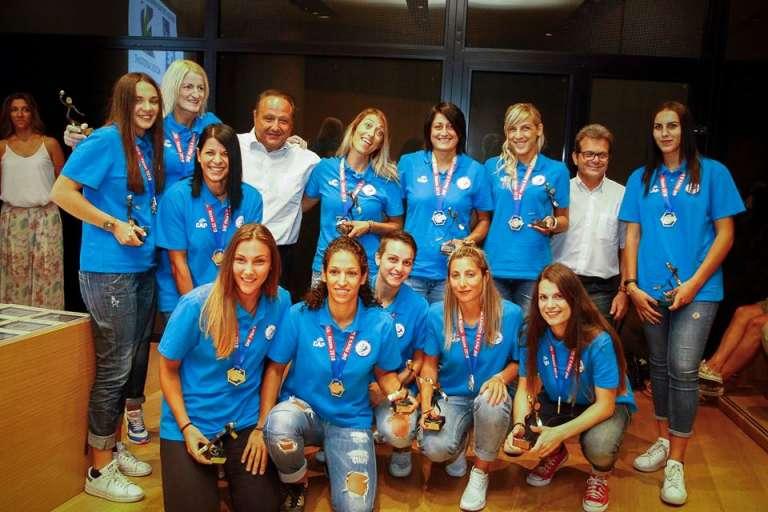 Βραβεύτηκαν Εθνική Beach Handball & αδερφές Κεπεσίδου!