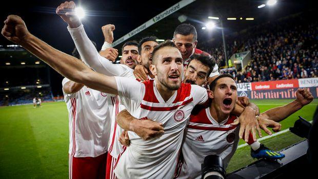 Ισοπαλία μετά κόπων και βασάνων στο Τερφ Μουρ και πρόκριση στους ομίλους του Europa League για τον Ολυμπιακό!