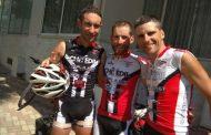 Στην Κομοτηνή οι 3 Ιταλοί ποδηλάτες που κατευθύνονται στην Κων/πολη