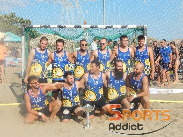 Το πρόγραμμα των Κυκλώπων Αλεξ/πολης στο Champions Cup του Beach Handball
