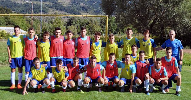Φιλική νίκη της Εθνικής Παίδων με συμμετοχή των Αναστασιάδη, Πατήρα και Ιωσηφίδη της Ξάνθης!