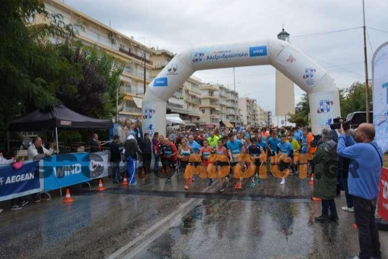 Το RUN GREECE μεγιστοποίησε την άθληση στην Αλεξ/πολη και εκτίναξε το δρομικό κίνημα στην περιοχή
