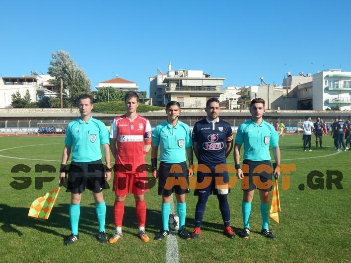 Οι διαιτητές που ορίστηκαν στα ματς της 12ης αγωνιστικής του 1ου ομίλου της Γ' Εθνικής!