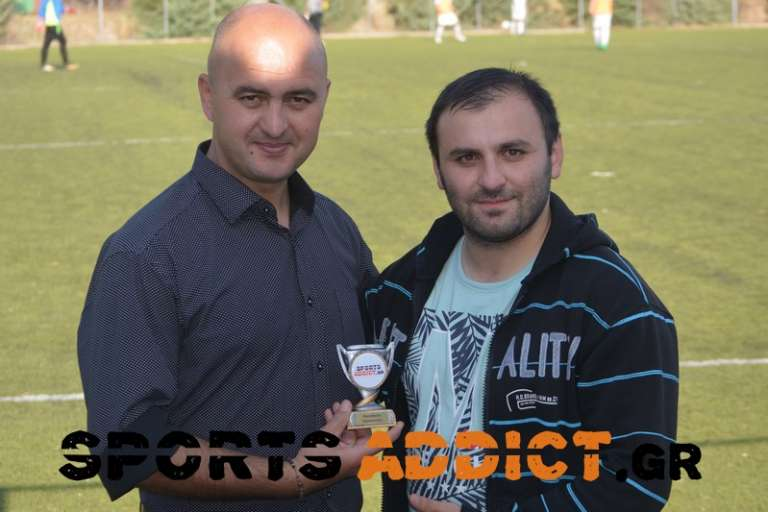 SportsAddict Awards: Κορυφαίος προπονητής της Θράκης για την αγωνιστική περίοδο 2017/18 ο Απόστολος Κουτρουλός!