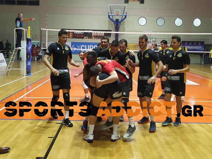 Volley League: Τρεις παίκτες της ΑΕ Κομοτηνής στην Dream Team της 4ης αγωνιστικής!