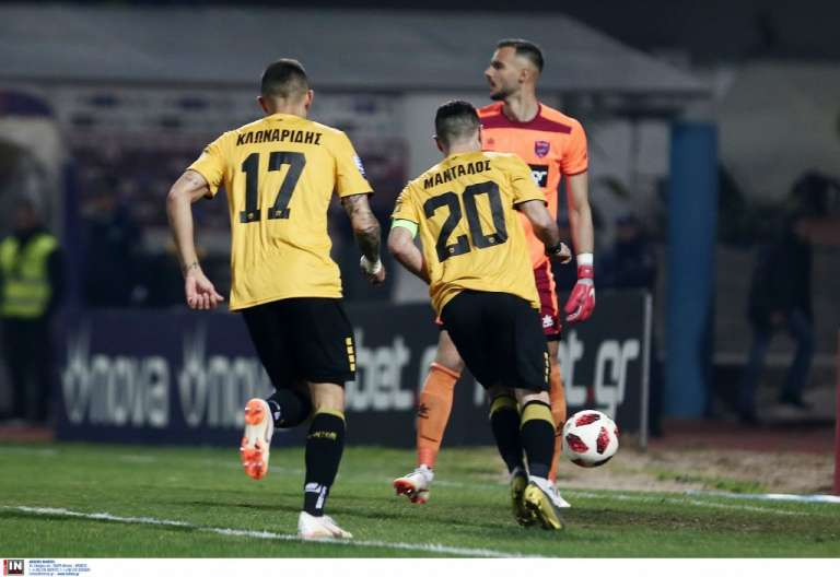 Σκόραρε ξανά ο Μάνταλος στη νίκη της ΑΕΚ, 5αδα έπιασε η Ξάνθη! Η βαθμολογία της Super League!