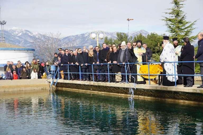 Καθαγιάστηκαν τα ύδατα του υδραγωγείου Κομοτηνής