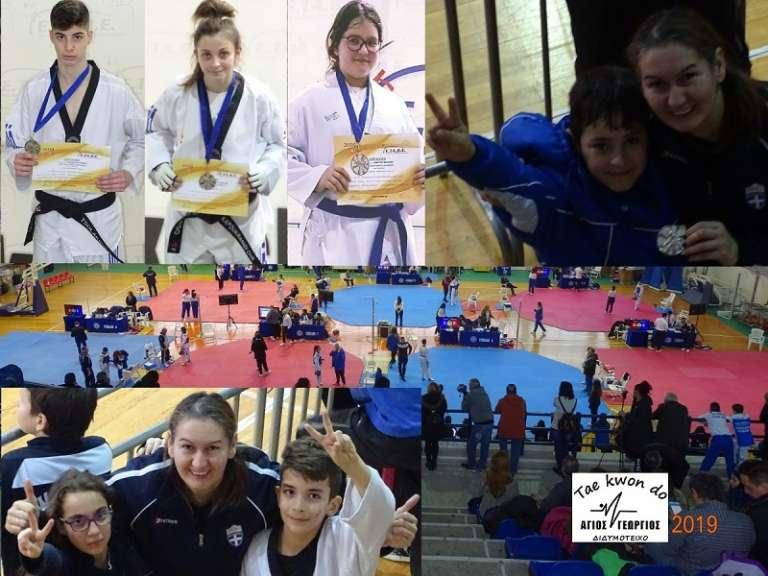 Επιτυχημένη παρουσία με 4 μετάλλια για τον Αγ. Γεώργιο Διδυμοτείχου στο 1ο Προκριματικό Πρωτάθλημα της ΕΤΑΒΕ για το 2019!