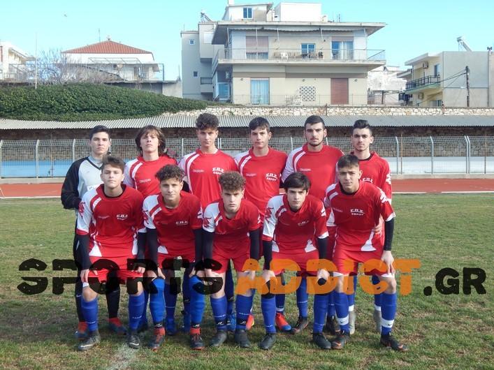 Η αποστολή της Κ16 της ΕΠΣ Έβρου για το ματς με την ΕΠΣ Ηπείρου