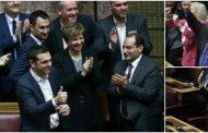 Πήρε ψήφο εμπιστοσύνης με οριακή πλειοψηφία η Κυβέρνηση!