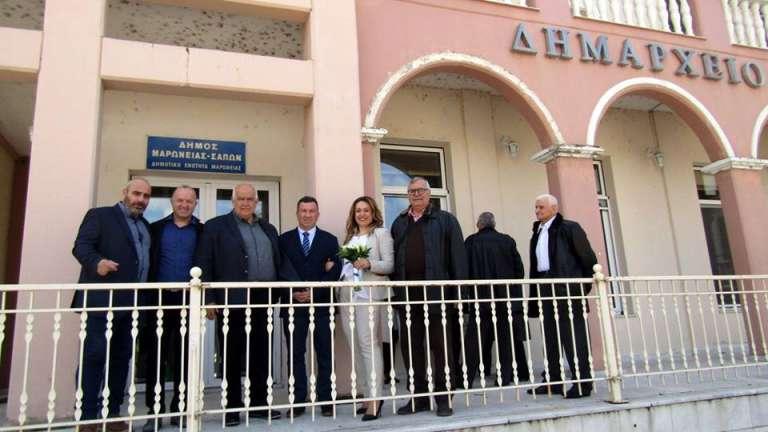 Παντρεύτηκε την αγαπημένη του Σταυρούλα ο ταμίας της ΕΠΣ Θράκης Χρήστος Κουκουλάκης!
