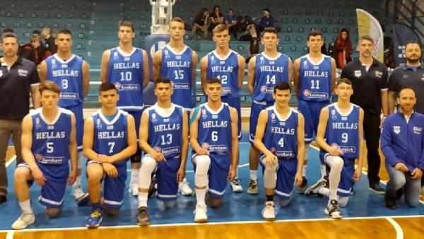 Με Ευσταθιάδη και Καλτσό η προετοιμασία της Εθνικής Παίδων για το Ευρωπαϊκό Πρωτάθλημα U16!