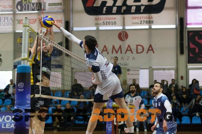 Volley League: Το πρόγραμμα και οι διαιτητές των τρίτων αγώνων σε play off & play out