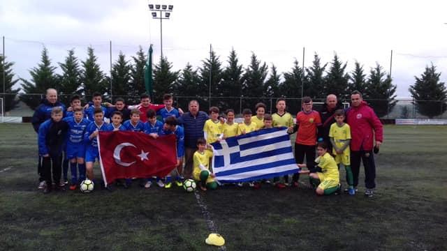 Γκολ στη φιλία έβαλαν τα παιδιά του Ορέστη και της τουρκικής Uzun Kiopru