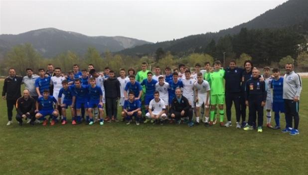 Με καλή παρουσία των εφτά Θρακιωτών ολοκληρώθηκε το camp των επίλεκτων ποδοσφαιριστών στο Καρπενήσι