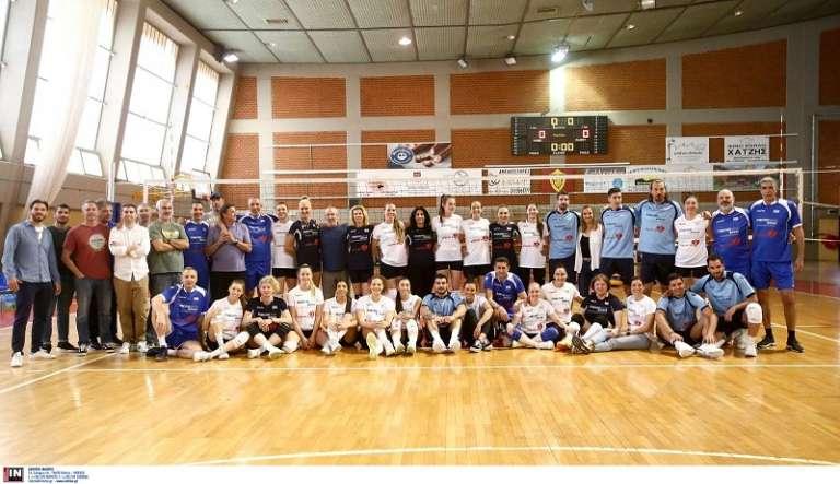 All Stars Volley: Η ιστορία του ελληνικού βόλεϊ συγκεντρώθηκε στην Πετρούπολη και είχε... θρακιώτικο χρώμα