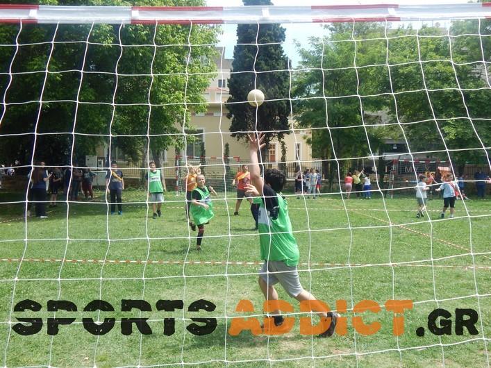 Με τη συμμετοχή 150 παιδιών διεξήχθη το 2ο Τουρνουά Grass Handball (photos)