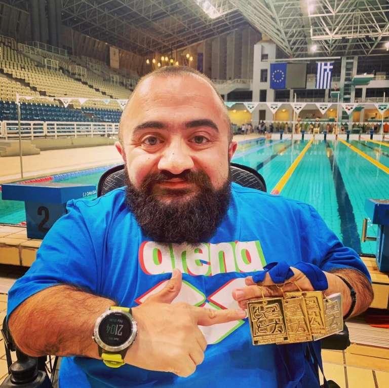 Τέσσερα μετάλλια για τον Καρυπίδη στο Πανελλήνιο Πρωτάθλημα!