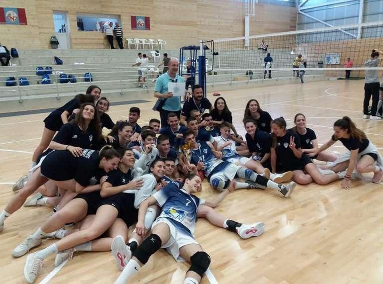 Πρωταθλητές Ελλάδας και Κύπρου με το Κολλέγιο Θεσ/νίκης οι Μούχλιας & Κεσεσίδης!