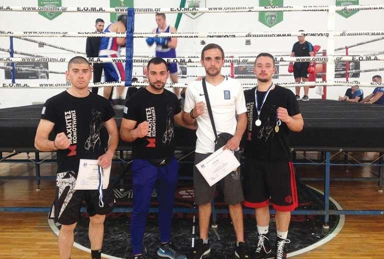 Θετικά συμπεράσματα και πολύτιμες εμπειρίες για τους αθλητές των Μαχητών Κομοτηνής στη Θεσσαλονίκη