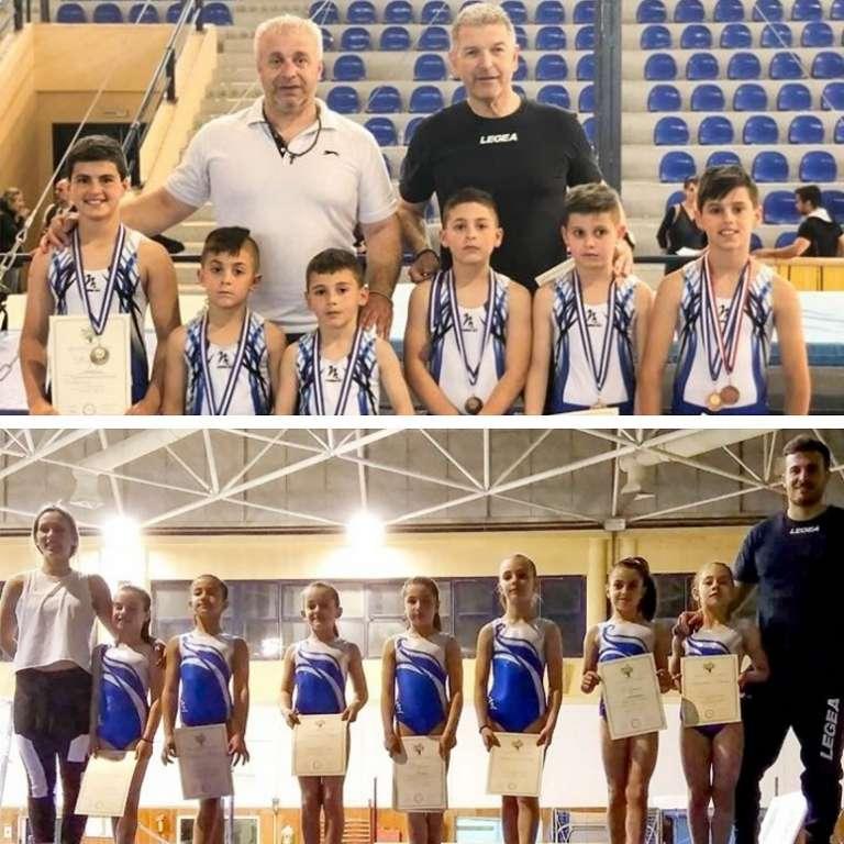 Χάλκινο μετάλλιο και εξαιρετικές επιδόσεις για Παμπαίδες & Παγκορασίδες του ΟΕΓΑ στην Α' φάση του Πανελληνίου!