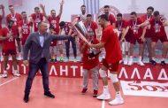 Πρωταθλητές Ελλάδας με τον Ολυμπιακό οι Ανδρεάδης και Δαρίδης!