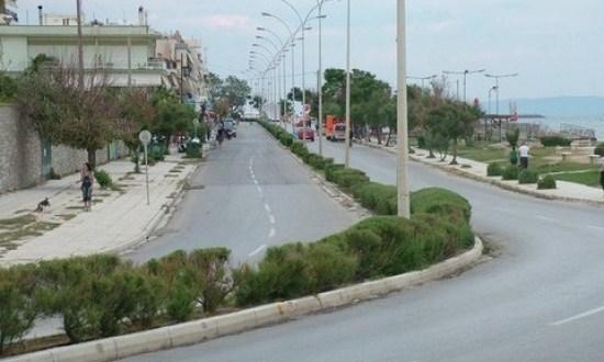 Στις 3 Ιουνίου κλείνει για τα οχήματα η παραλιακή της Αλεξανδρούπολης