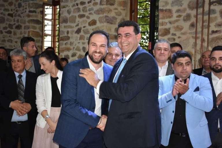 Στο πλευρό του Θανάση Κριτσίνη με δίψα για προσφορά στον Δήμο Αβδήρων ο Τάσος Σουρουτζίδης!