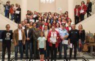 Τιμήθηκαν οι εθελοντές και θεσμικοί φορείς του Via Egnatia Run 2019