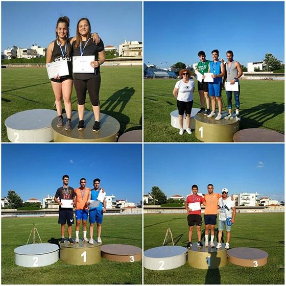 Οκτώ μετάλλια ο απολογισμός του Εθνικού στους Πανθρακικούς Αγώνες!