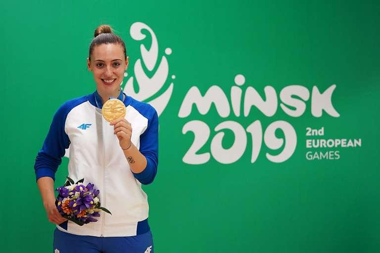 Χρυσό μετάλλιο στους Ευρωπαϊκούς Αγώνες του Μινσκ για την Άννα Κορακάκη!