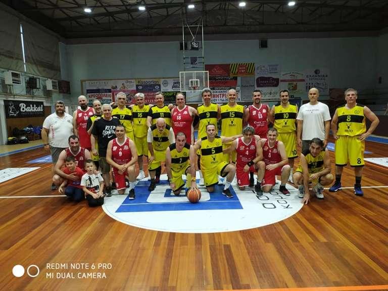 Με το δεξί στο 1ο Maxibasketball Τουρνουά οι Βετεράνοι Ξάνθης και Κομοτηνής!