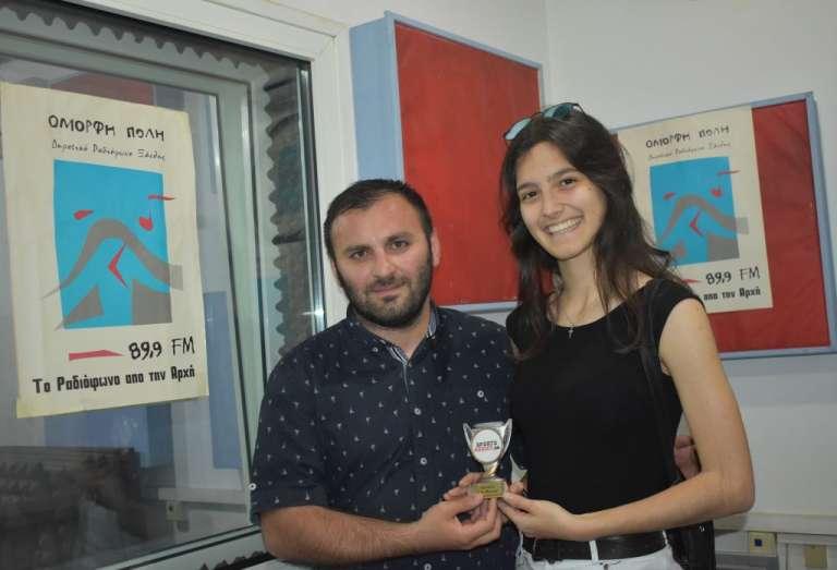 SportsAddict Awards: Κορυφαία Νέα Αθλήτρια της Θράκης για την αγωνιστική περίοδο 2017/18 η Μαρία Τσίγκρου!
