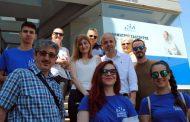 Επίσκεψη στην αγορά της Ξάνθης αλλά και σε Άβατο, Εράσμιο, Μάγγανα και Λεύκη απο τον Δημήτρη Σαλτούρο(+pics)