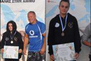 Τρία μετάλλια για το Δημοκρίτειο στο Πανελλήνιο Πρωτάθλημα Πάλης Άμμου!