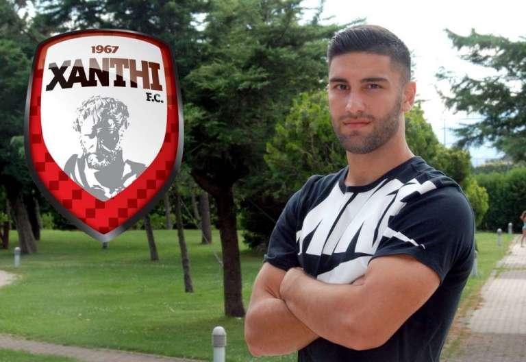 Και επίσημα παίκτης της Ξάνθης ο Αλέξανδρος Γκαργκαλατζίδης!