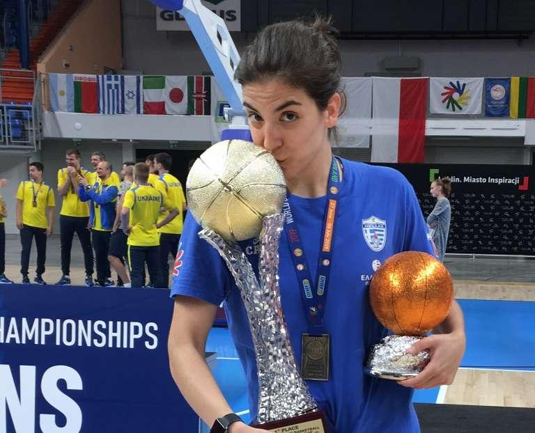 MVP του Παγκόσμιου Πρωταθλήματος μια πρώην παίκτρια του ΓΑΣ και απόφοιτος του ΤΕΦΑΑ Κομοτηνής!
