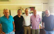 Εποικοδομητική επίσκεψη του Δημήτρη Σαλτούρου σε Εργατικό Κέντρο, ΚΑΠΗ, Πολύσιτο, Συδινή, Σέλινο και Σέλερο!