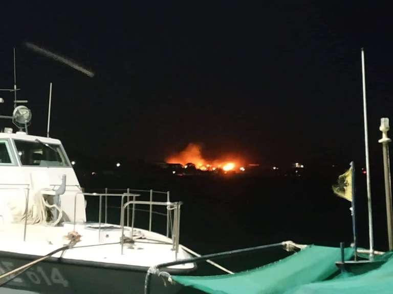 Μεγάλη φωτιά με αρκετά μέτωπα στη Σαμοθράκη!