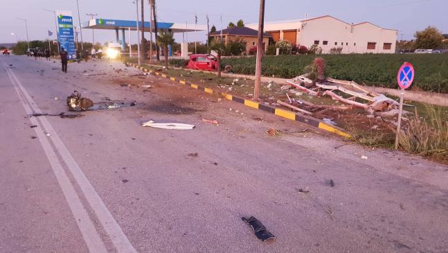 Τροχαίο δυστύχημα στην επαρχιακή οδό Κομοτηνής – Ξυλαγανής!