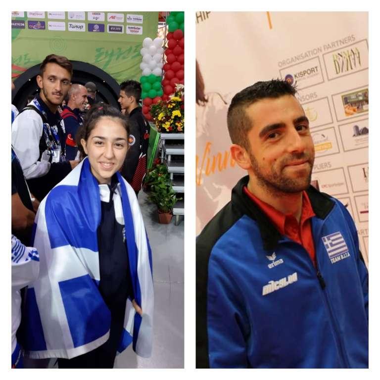 Χάλκινο στο Παγκόσμιο της Βουλγαρίας για 2 αθλητές του Απόλλωνα Αλεξανδρούπολης!