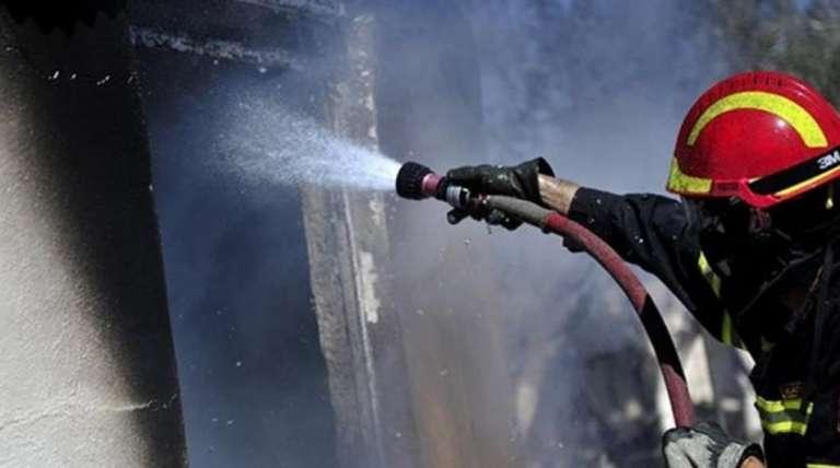 Φωτιά σε σπίτι επί της οδού Μαραθώνος στην Κομοτηνή!