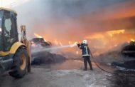 Κλειστή και σήμερα η Εγνατία Οδός λόγω της πυρκαγιάς κάτω από γέφυρα στην Ιτέα!