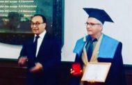 Επίτιμος καθηγητής του Ευρασιατικού Πανεπιστημίου ο Γιάννης Μπάρμπας!