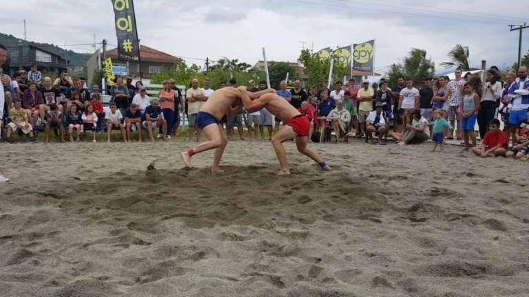 Λόγω μικρής συμμετοχής ακυρώθηκε το αναπτυξιακό πρωτάθλημα Πάλης Αμμου στο Μυρωδάτο Ξάνθης!