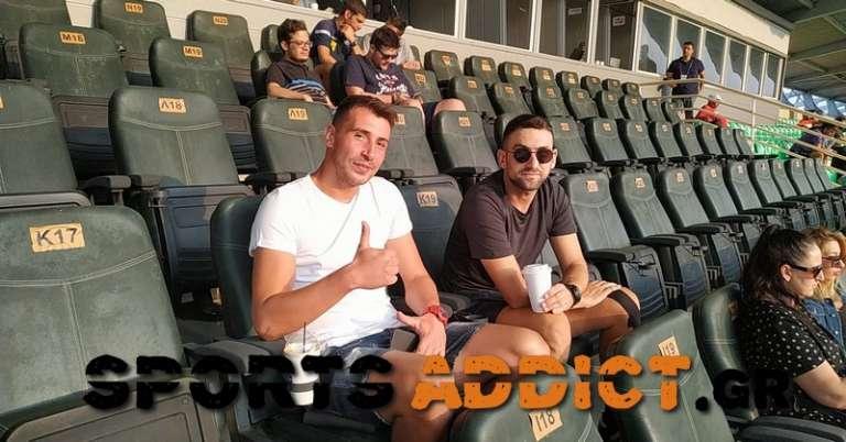 Δια ζώσης είδε τη νέα νίκη της Ξάνθης ο Ζίβκο Ζίβκοβιτς!