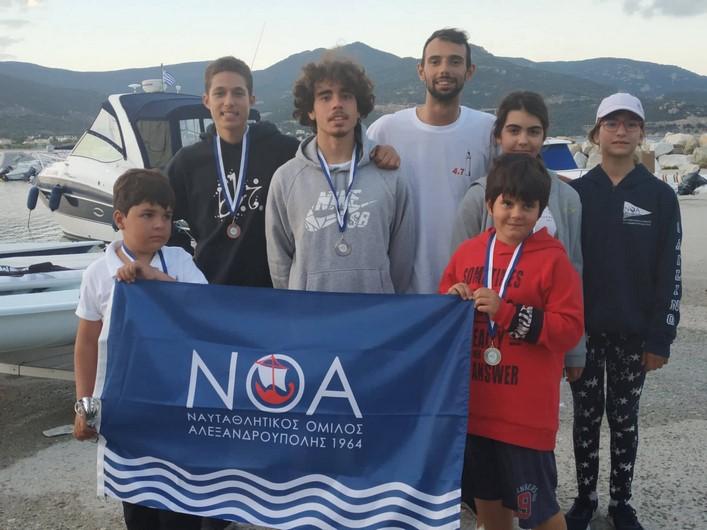 Επιτυχίες για το ΝΟΑ στον διασυλλογικό της Ηρακλείτσας