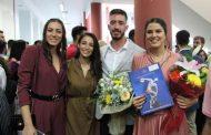 Στιγμές χαράς και συγκίνησης για Ανδρεάδη, Παρισάκη, Δημητροπούλου και 127 ακόμη αποφοίτων των ΤΕΦΑΑ Κομοτηνής