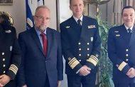 Συνάντηση του αρχηγού του Λιμενικού Σώματος με τον δήμαρχο Μαρώνειας-Σαπών!